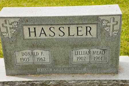 MEAD HASSLER, LILLIAN - Richland County, Ohio | LILLIAN MEAD HASSLER - Ohio Gravestone Photos