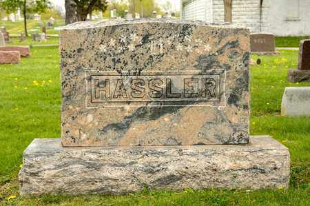 HASSLER, EDGAR S - Richland County, Ohio | EDGAR S HASSLER - Ohio Gravestone Photos