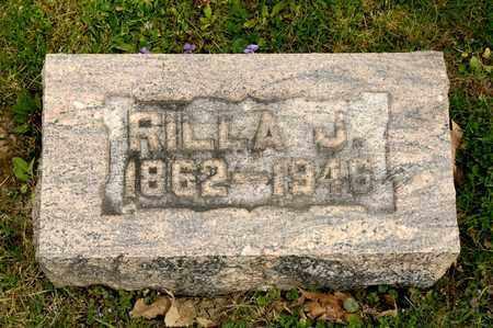 HASSLER, RILLA J - Richland County, Ohio | RILLA J HASSLER - Ohio Gravestone Photos