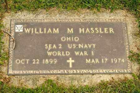 HASSLER, WILLIAM M - Richland County, Ohio | WILLIAM M HASSLER - Ohio Gravestone Photos