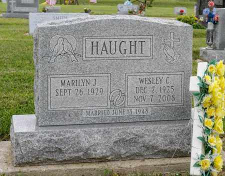 HAUGHT, WESLEY C - Richland County, Ohio | WESLEY C HAUGHT - Ohio Gravestone Photos