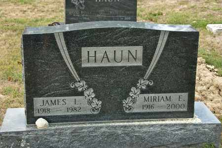 HAUN, JAMES L - Richland County, Ohio | JAMES L HAUN - Ohio Gravestone Photos
