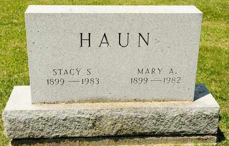 HAUN, STACY S - Richland County, Ohio | STACY S HAUN - Ohio Gravestone Photos