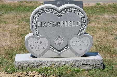 HAVERFIELD, DONALD E - Richland County, Ohio | DONALD E HAVERFIELD - Ohio Gravestone Photos
