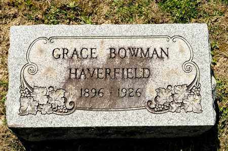 BOWMAN HAVERFIELD, GRACE - Richland County, Ohio | GRACE BOWMAN HAVERFIELD - Ohio Gravestone Photos