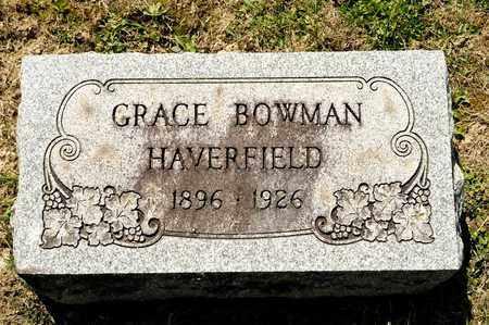 HAVERFIELD, GRACE - Richland County, Ohio | GRACE HAVERFIELD - Ohio Gravestone Photos