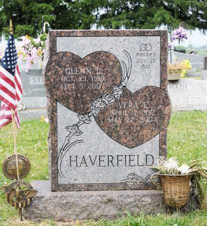 HAVERFIELD, GLENN L - Richland County, Ohio | GLENN L HAVERFIELD - Ohio Gravestone Photos