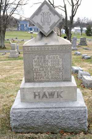 HAWK, WILLIAM W - Richland County, Ohio | WILLIAM W HAWK - Ohio Gravestone Photos