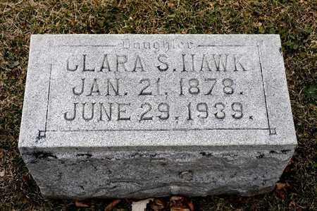 HAWK, CLARA S - Richland County, Ohio | CLARA S HAWK - Ohio Gravestone Photos