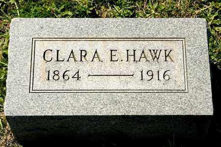 HAWK, CLARA E - Richland County, Ohio | CLARA E HAWK - Ohio Gravestone Photos