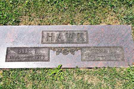 HAWK, ELLIS L - Richland County, Ohio | ELLIS L HAWK - Ohio Gravestone Photos
