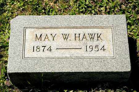 HAWK, MAY W - Richland County, Ohio | MAY W HAWK - Ohio Gravestone Photos