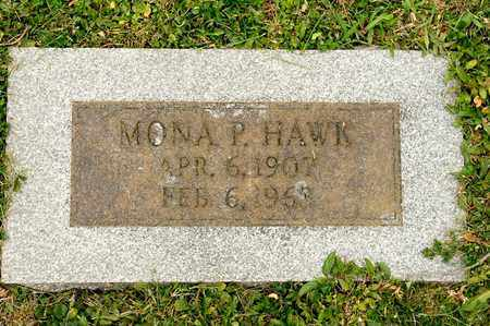HAWK, MONA P - Richland County, Ohio | MONA P HAWK - Ohio Gravestone Photos