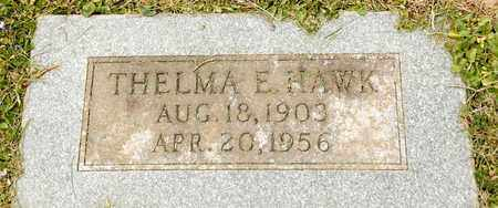 HAWK, THELMA E - Richland County, Ohio | THELMA E HAWK - Ohio Gravestone Photos