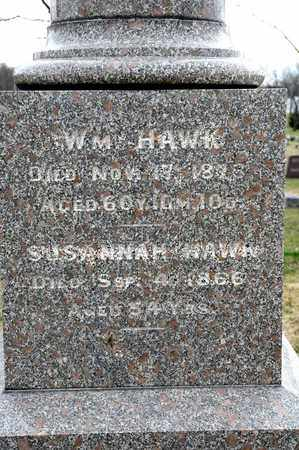 HAWK, WILLIAM - Richland County, Ohio | WILLIAM HAWK - Ohio Gravestone Photos