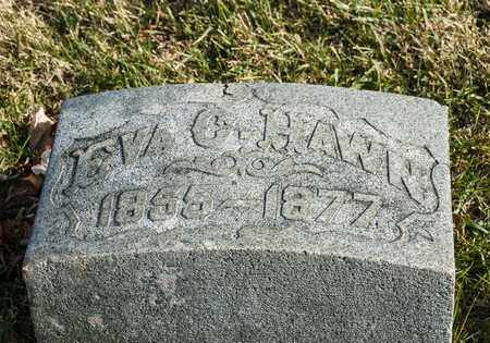 HAWN, EVA C - Richland County, Ohio | EVA C HAWN - Ohio Gravestone Photos