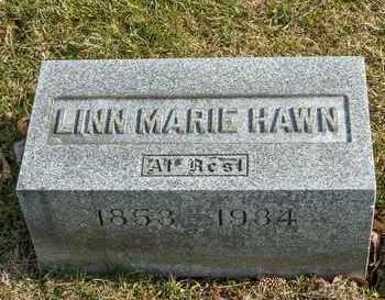 HAWN, LINN MARIE - Richland County, Ohio | LINN MARIE HAWN - Ohio Gravestone Photos