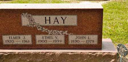 HAY, ETHEL V - Richland County, Ohio | ETHEL V HAY - Ohio Gravestone Photos