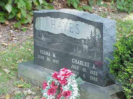 HAYES, CHARLES A. - Richland County, Ohio | CHARLES A. HAYES - Ohio Gravestone Photos
