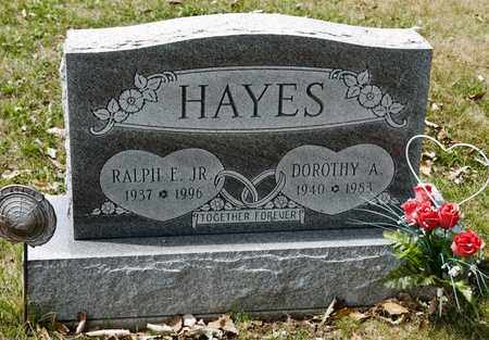HAYES JR, RALPH E - Richland County, Ohio | RALPH E HAYES JR - Ohio Gravestone Photos