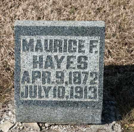 HAYES, MAURICE F - Richland County, Ohio | MAURICE F HAYES - Ohio Gravestone Photos