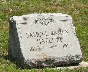 HAZELETT, SAMUEL JAMES - Richland County, Ohio | SAMUEL JAMES HAZELETT - Ohio Gravestone Photos