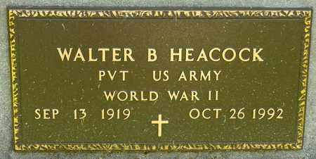 HEACOCK, WALTER B - Richland County, Ohio | WALTER B HEACOCK - Ohio Gravestone Photos