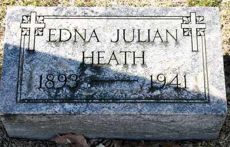 HEATH, EDNA JULIAN - Richland County, Ohio | EDNA JULIAN HEATH - Ohio Gravestone Photos