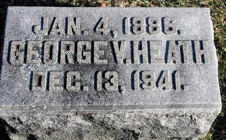 HEATH, GEORGE V - Richland County, Ohio | GEORGE V HEATH - Ohio Gravestone Photos