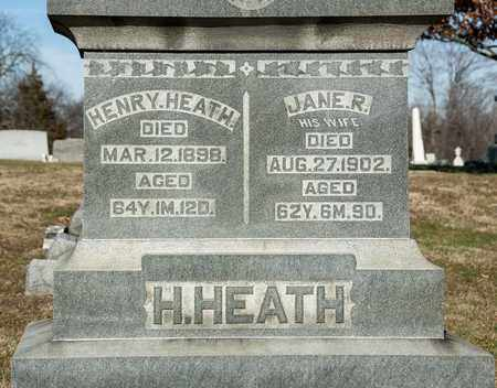 HEATH, HENRY - Richland County, Ohio | HENRY HEATH - Ohio Gravestone Photos