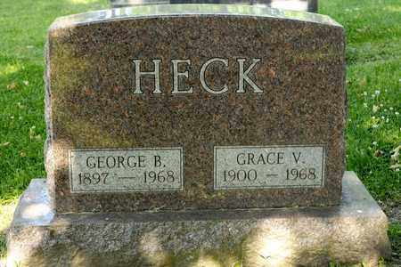 HECK, GEORGE B - Richland County, Ohio | GEORGE B HECK - Ohio Gravestone Photos