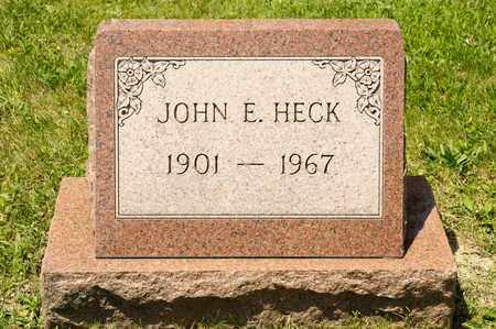 HECK, JOHN E - Richland County, Ohio | JOHN E HECK - Ohio Gravestone Photos