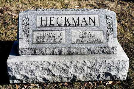 HECKMAN, THOMAS J - Richland County, Ohio | THOMAS J HECKMAN - Ohio Gravestone Photos