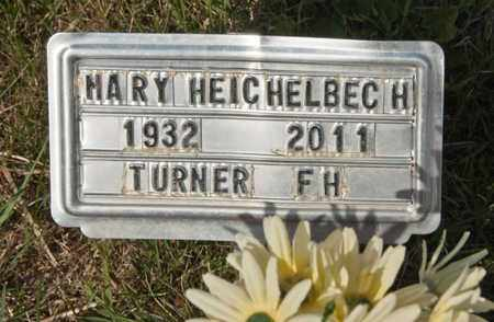 HEICHELBECH, MARY - Richland County, Ohio | MARY HEICHELBECH - Ohio Gravestone Photos