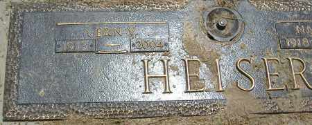 HEISER, VERN V. - Richland County, Ohio | VERN V. HEISER - Ohio Gravestone Photos