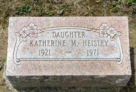 HEISLEY, KATHERINE M - Richland County, Ohio | KATHERINE M HEISLEY - Ohio Gravestone Photos