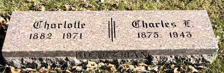HEITZMAN, CHARLOTTE - Richland County, Ohio | CHARLOTTE HEITZMAN - Ohio Gravestone Photos