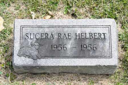 HELBERT, SUCERA RAE - Richland County, Ohio | SUCERA RAE HELBERT - Ohio Gravestone Photos