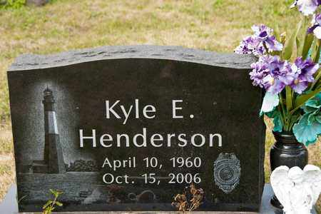 HENDERSON, KYLE E - Richland County, Ohio | KYLE E HENDERSON - Ohio Gravestone Photos