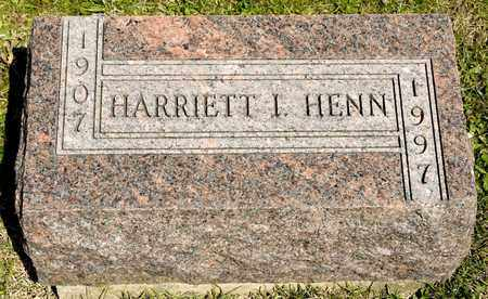 HENN, HARRIETT - Richland County, Ohio | HARRIETT HENN - Ohio Gravestone Photos