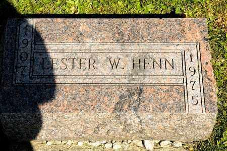 HENN, LESTER - Richland County, Ohio | LESTER HENN - Ohio Gravestone Photos