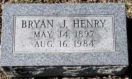 HENRY, BRYAN J - Richland County, Ohio | BRYAN J HENRY - Ohio Gravestone Photos