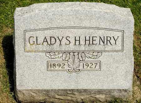 HENRY, GLADYS H - Richland County, Ohio | GLADYS H HENRY - Ohio Gravestone Photos