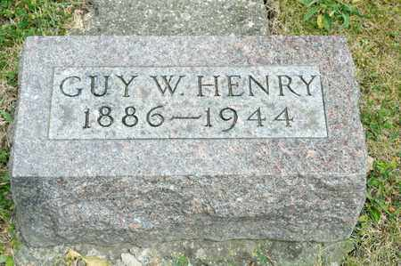 HENRY, GUY W - Richland County, Ohio | GUY W HENRY - Ohio Gravestone Photos