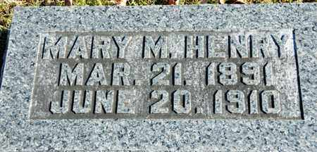 HENRY, MARY M - Richland County, Ohio | MARY M HENRY - Ohio Gravestone Photos