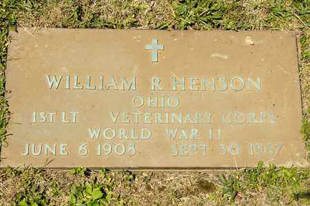 HENSON, WILLIAM R - Richland County, Ohio | WILLIAM R HENSON - Ohio Gravestone Photos