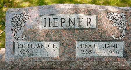 HEPNER, PEARL JANE - Richland County, Ohio | PEARL JANE HEPNER - Ohio Gravestone Photos