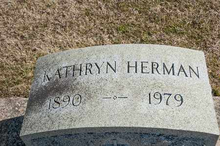 HERMAN, KATHRYN - Richland County, Ohio | KATHRYN HERMAN - Ohio Gravestone Photos