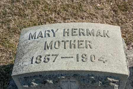 HERMAN, MARY - Richland County, Ohio | MARY HERMAN - Ohio Gravestone Photos
