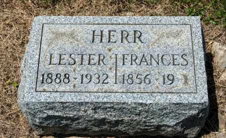 HERR, LESTER - Richland County, Ohio | LESTER HERR - Ohio Gravestone Photos
